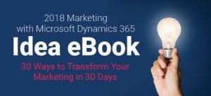 2018 microsoft dynamics idea ebook image