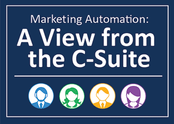 Marketing automation: a view from the c-suite image