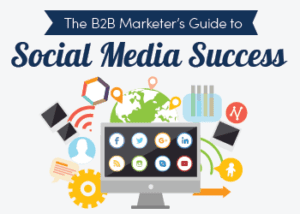 The B2B marketers guide to social media success ebook image