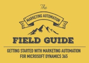 The marketing automation field guide ebook image