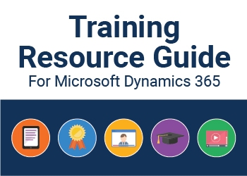 microsoft dynamics training resource guide image