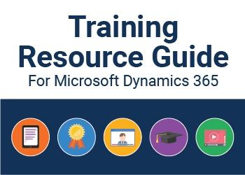 microsoft dynamics training resource guide image