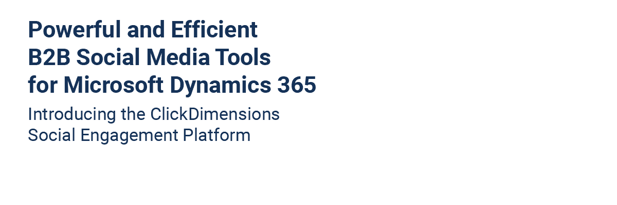 Marketing Automation Software Solution | ClickDimensions