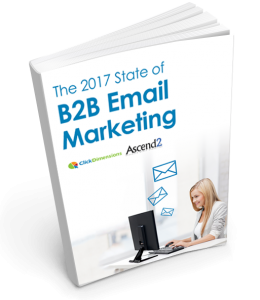 The 2017 State of B2B Email Marketing